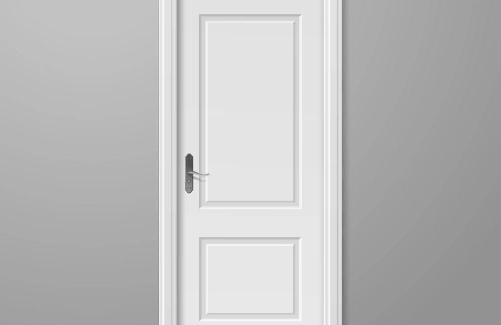 klamki do białych drzwi